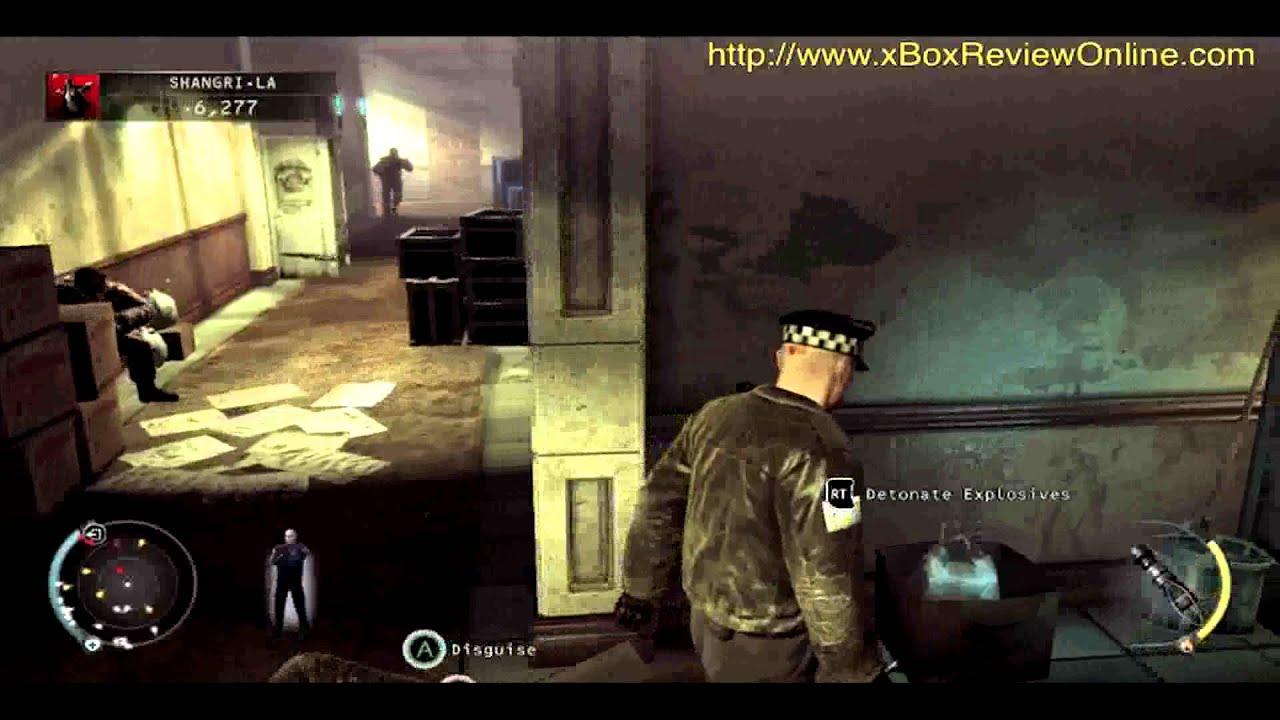 Hitman Absolution Part 6 3 Shangri La Walkthrough Game Play Xbox