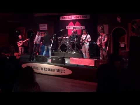Billy Brown Band Live on stage at Bobby Mackeys americashonkytonk
