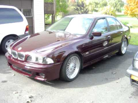 Bmw 528i Sport E39 1998 Bbs 18 Quot Style 5 Wheels Staggered