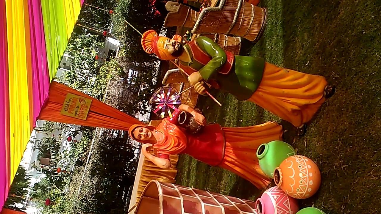 Mehndi Decor In Punjabi Wedding Youtube