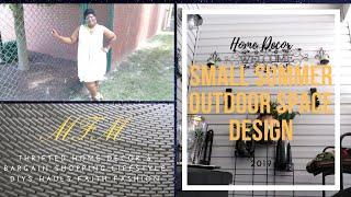 Small Summer Outdoor Space Design-Patio/Deck/Balcony/Porch 2019