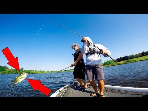 Catching Fish in the WORST Conditions Possible!!!