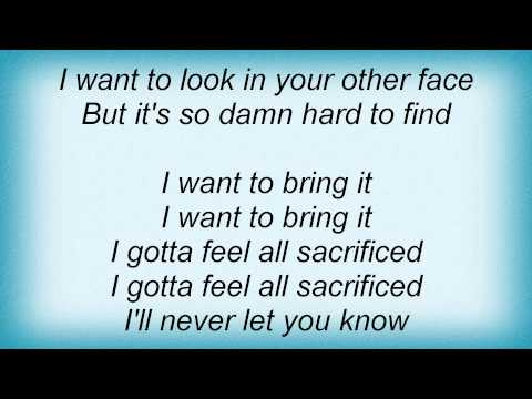 Danzig - Sacrifice Lyrics