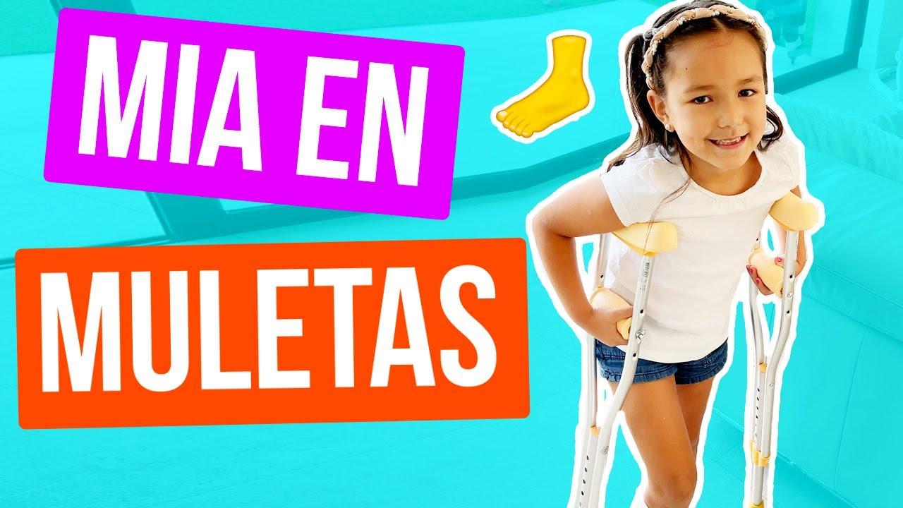 Download SE FRACTURO EL PIE.. ¡EN MULETAS! | KARLA CELIS VLOGS