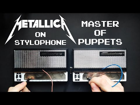 Metallica - Master Of Puppets (Stylophone Cover W/ Solos)