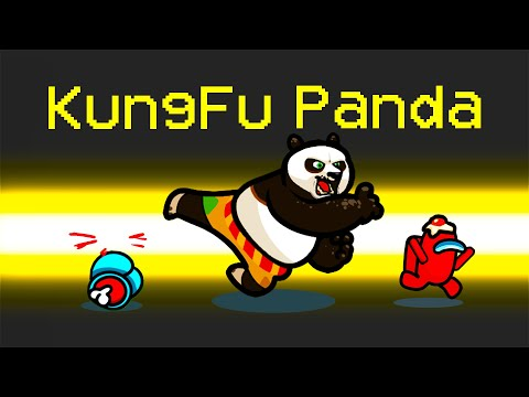 *NEW* KUNG FU PANDA ROLE in Among Us