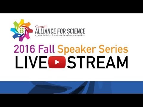 Alliance for Science 2016 Fall Speaker Series - Jayne Raper, Ph.D.