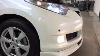 エンジン音 トヨタ エスティマ ハイブリッド X 4WD (N027)