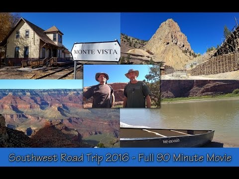Southwest Roadtrip 2016 - Full 90 Minute Movie
