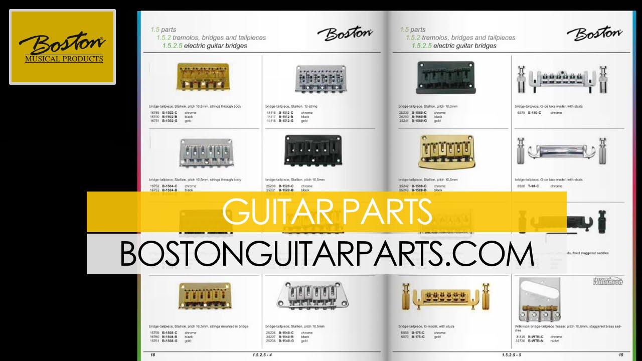 Guitar Parts Boston : boston guitar parts by boston musical products youtube ~ Hamham.info Haus und Dekorationen