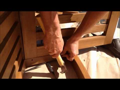 Oceanic Teak Furniture Deep Seat Assembly