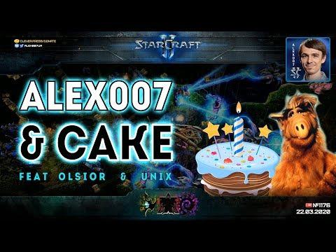 ШОУ С КЕЙКОМ И ОЛСИ: 2x2 и 3х3 в StarCraft II + Шоуматч Alex007 & Olsior VS Cake & Unix