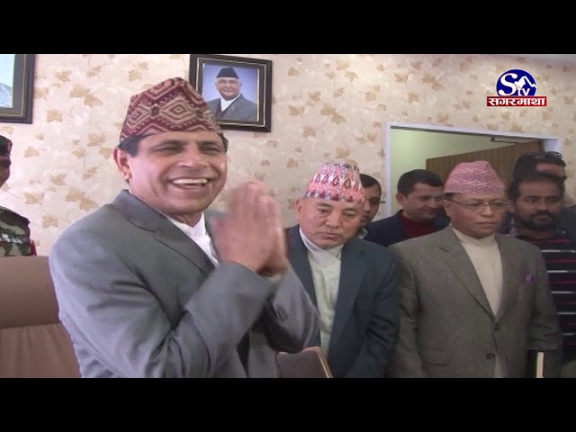 सरकारका नयाँ मन्त्री !! Sagarmatha Report