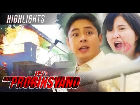 Cardo Evades The Explosion To Save Lily   FPJ's Ang Probinsyano (With Eng Subs)