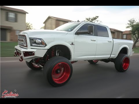 2016 2500 RAM LIFTED 8 INCHES WITH A FTS LIFT KIT ON CANDY ...