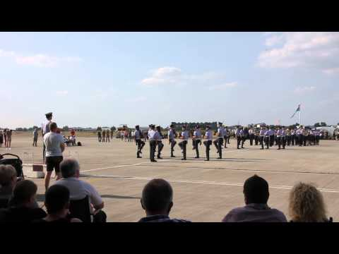 RAF Northolt - QCS - Armed Dancers!