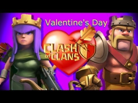 Clash Of Clans - Valentines Day HD
