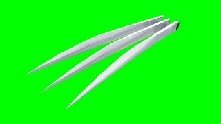 GreenScreen Wolverine claws + download link