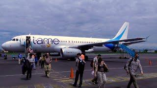 TRIP REPORT | TAME Ecuador | Airbus A320 | Quito - Coca | Economy Class | ✈
