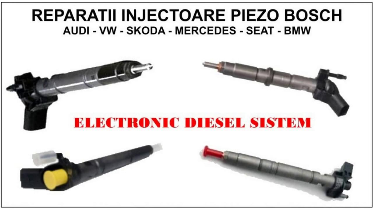 Reparatii Injectoare Piezo Audi A6 3.0 TDI