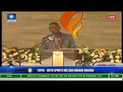 The Platform 2017: Sports Has The Power To Change Nigeria - Olusegun Odegbami Pt 1