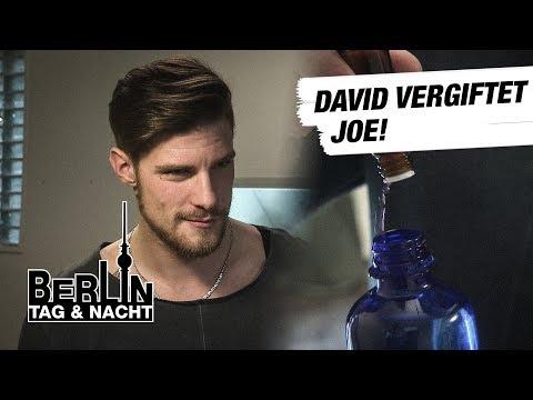 Berlin - Tag & Nacht - David vergiftet Joe 1693 - RTL II