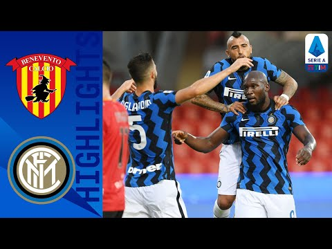 Benevento Inter Goals And Highlights