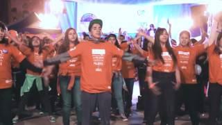 Flashmob Bolivia contra la violencia hacia mujeres