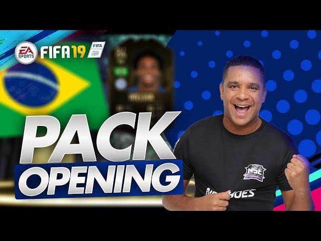 FIFA19 UT - PRIMEIRO PACK OPENING DO FIFA 19 JÁ MITAMOS !! 1 IF, 1 OVER 87 E MUITO MAIS