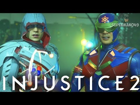 "Atom Rage Vs The Craziest Robin Of All Time... #Stressful - Injustice 2 ""Atom"" Gameplay"