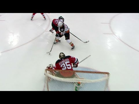 Gotta See It: Henrique flips puck over Vatanen then goes backhand for goal