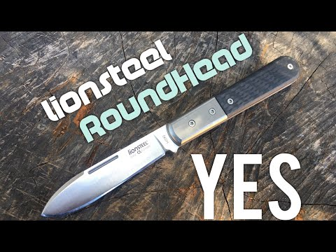 Lionsteel Roundhead Review and Sharpening