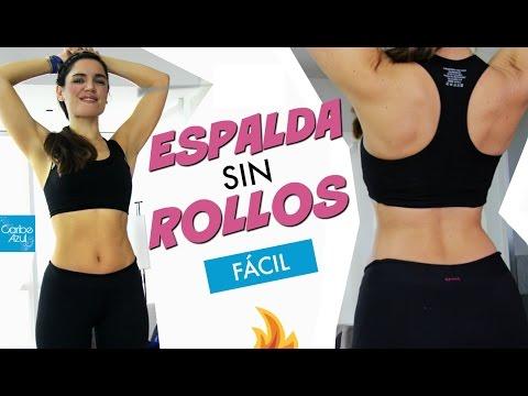 ejercicios de gimnasio para reducir espalda
