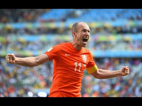 Arjen Robben - Best Goals For Netherlands