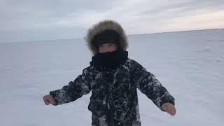 Рыбалка 01 марта 2020г Казахстан оз Султан заповедник щука на жерлицы окунь и т д