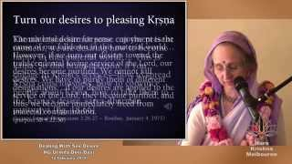 Dealing With Sex Desire by HG Urmila Devi Dasi