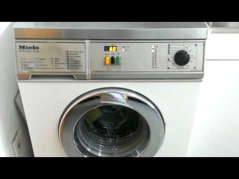 Miele Washing Machine >> Miele Professional WS5425 MC13 - YouTube