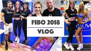 ICH BIN ÜBERWÄLTIGT 😍💪🏽 FIBO 2018 VLOG