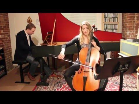 Antonio Vivaldi - Cello Sonata No. 3 In A Minor, I. Largo, On Baroque Cello With Harpsichord