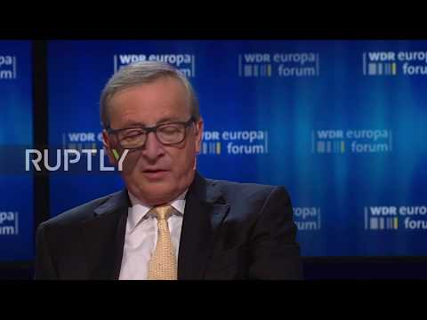 Germany: Juncker urges US not to 'leave world stage' by quitting climate deal