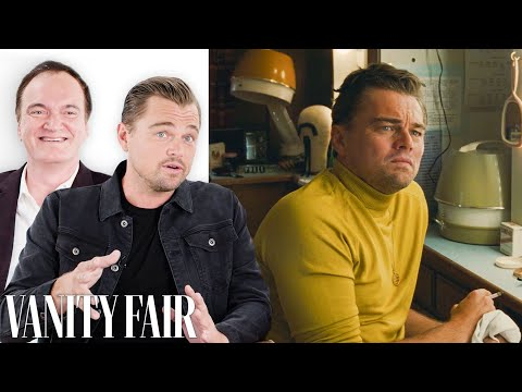 Leonardo DiCaprio & Quentin Tarantino Break Down Once Upon a