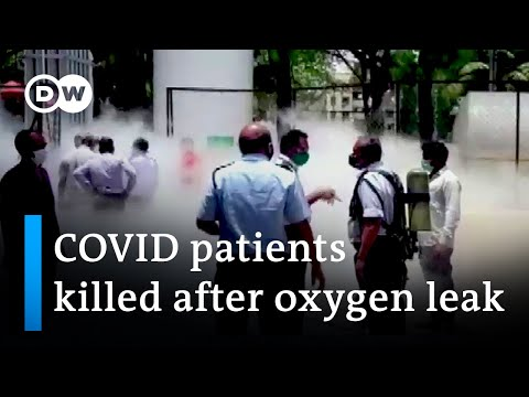 India: Several people died after oxygen supply to a hospital was cut off | DW News