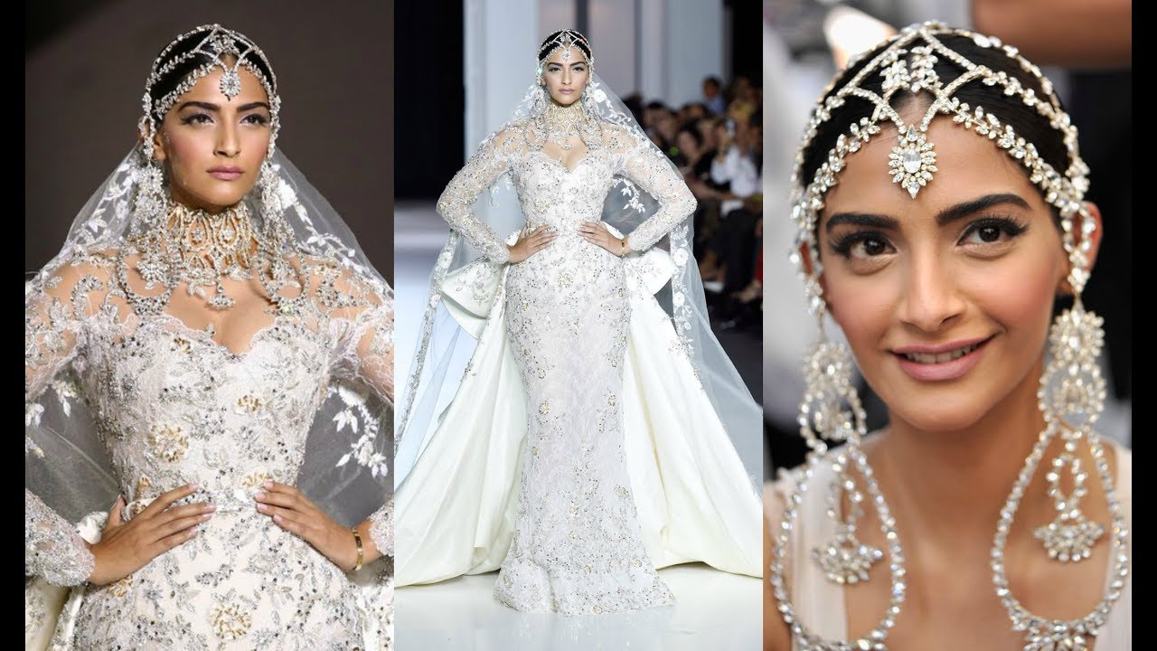 Sonam Kapoor Dazzles As Ralph & Russo Showstopper In White