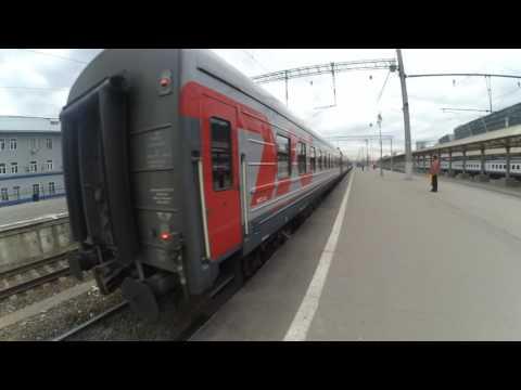 Отправление поезда 065М Москва-Кишинёв с Киевского вокзала Москвы 2.10.2016