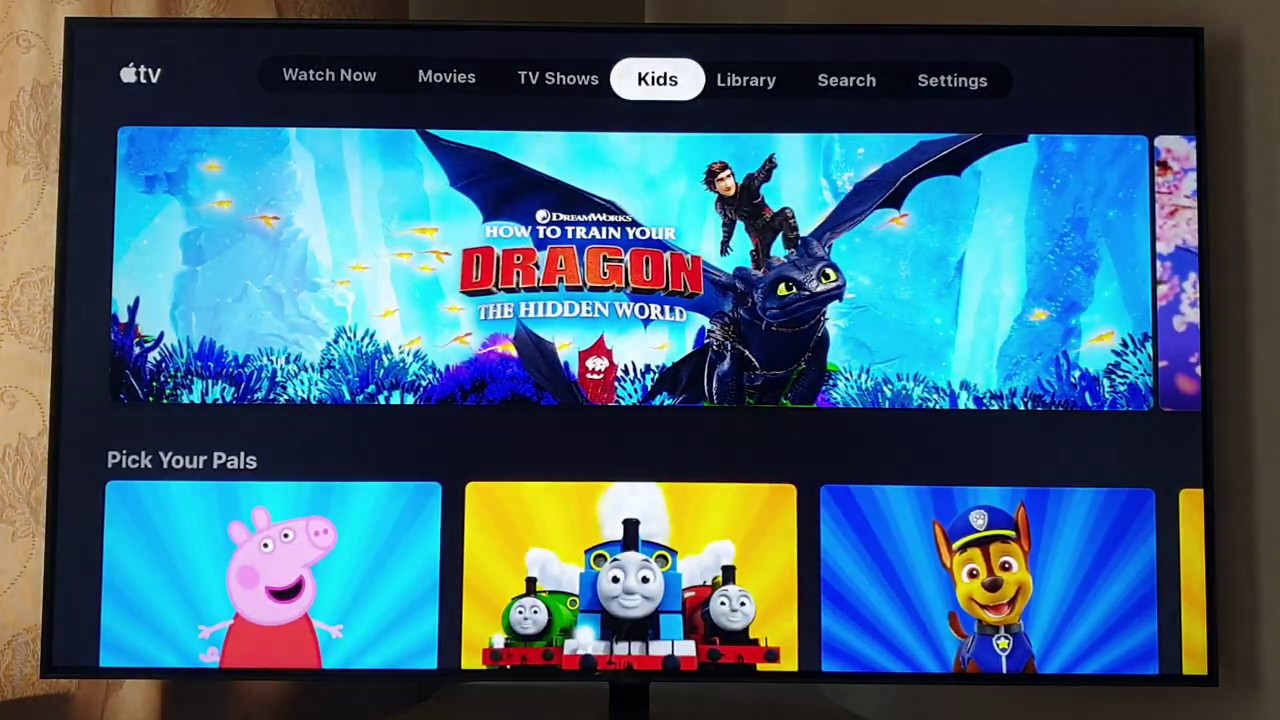 Apple TV app on the Samsung Q9FN/Q9F Smart TV