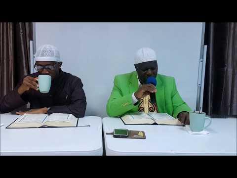 DONT BE DISTRACTION FROM THE REMEMBRANCE OF ALLAH- SH. YUSUF KAMARA & sH. DR FAISAL BOADI