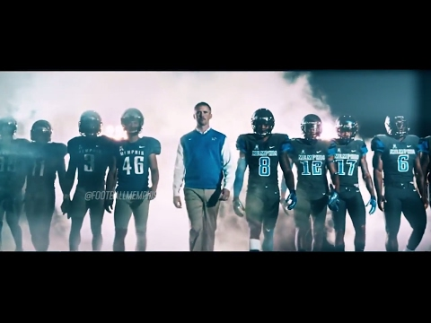 Memphis Tiger Football Pump Up 2017-2018