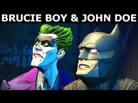 Brucie Boy & John Doe As Good Friends - BATMAN Season 2 The Enemy Within Episode 5: Same Stitch
