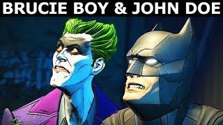 Brucie Boy & John Doe As Good Friends - BATMAN Season 2 The Enemy Within Episode 5: Same Stitch