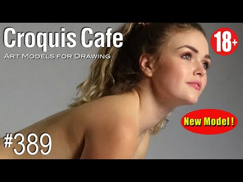 CROQUIS CAFE: Art Models For Drawing, No. 389 (PREVIEW/NEW MODEL)